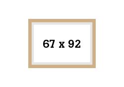 Picture format 51,3x77cm